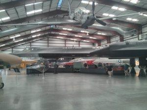 SR-71A Blackbird.