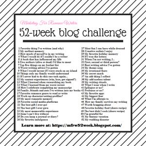 2018 52-Week Blog Challenge